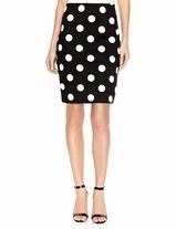 You can't go wrong with a polka dot pencil skirt! Loving this option from @The Limited