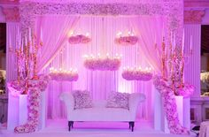 Ideas For Wedding Elegant Decoration Event Design Beautiful Modern Wedding Theme, Wedding Themes, Wedding Designs, Elegant Wedding, Wedding Venues, Wedding Draping, Wedding Reception Backdrop, Wedding Stage Decorations, Wedding Flowers
