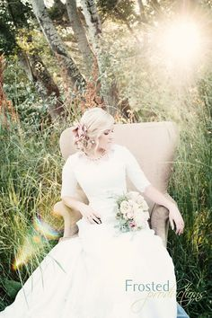 beautiful bridal photo