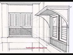 how to draw buildings - YouTube