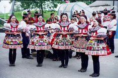 A Czech Republic folk Dance Festival