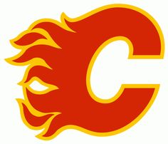 Calgary Flames Primary Logo on Chris Creamer's Sports Logos Page - SportsLogos. A virtual museum of sports logos, uniforms and historical items. Hockey Logos, Nhl Logos, Ice Hockey Teams, Sports Team Logos, Sports Teams, Flames Hockey, Relationship Red Flags, Hartford Whalers, Record Art