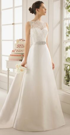 Aire Barcelona 2015 Bridal Collection - Belle The Magazine - Wedding Dresses Lace Stunning Wedding Dresses, Dream Wedding Dresses, Beautiful Dresses, Wedding Gowns, Wedding Blog, Wedding Stage, Wedding Ideas, Wedding Attire, Wedding Pictures