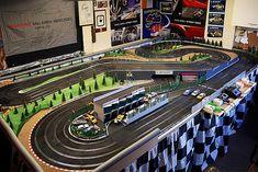 Slot Car Race Track, Ho Slot Cars, Slot Car Racing, Slot Car Tracks, Scalextric Track, Circuits, Layouts, Lego, Hobbies