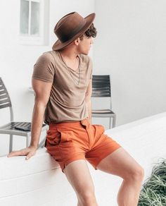 earth tones, always ✨🌎 Summer Outfits Men, Stylish Mens Outfits, Casual Outfits, Men Casual, Unisex Outfits, Herren Outfit, Mode Style, Mens Clothing Styles, Guy Fashion