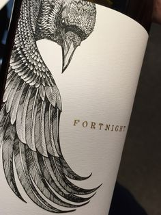 Fortnight Wines : Printed at Tapp Label