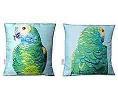 Kussen Parrot, 2-delig, 45 x 45 cm