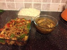 Enjoy a Slimming World Friendly Chinese fakeaway, with chow mein & curry