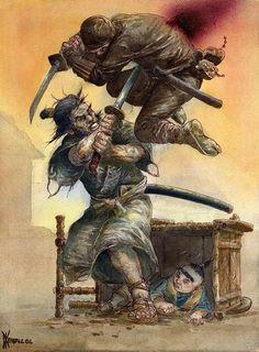 O melhor Samurai de mangá: Itto Ogami