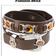 Hot and trendy fashion belts - Hi ladies, tell me which ones are hot, Rock one of these with a fly tee shirt and jeans, oh and some wedges, Sexy!