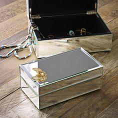 Mirrored Jewelry Box | west elm