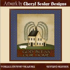 Bless Our Home Block Printables