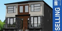 NEW Custom build in upscale New Edinburgh, this 2 storey modern semi-detached home comes fitted with countless high end features as well as being minutes from downtown Ottawa.  The open concept floor plan, large windows