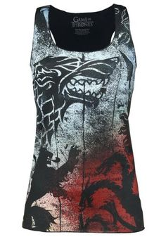 Sigil Graffiti - Tanktop van Game Of Thrones
