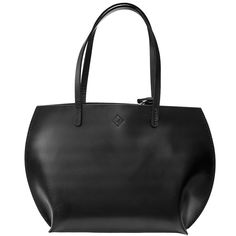 Leather handbag - Luke (Black)