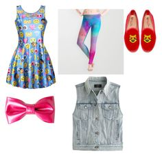"""Jojo Siwa fashion"" by ggbotz ❤ liked on Polyvore featuring J.Crew"