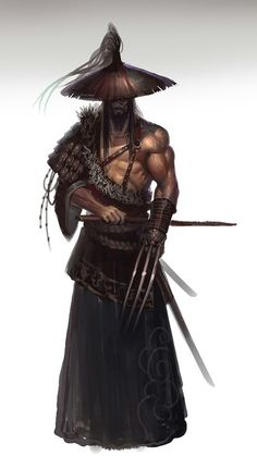 Eastern Male Warrior