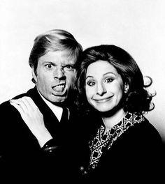 Robert Redford & Barbara Streisand by Steve Schapiro