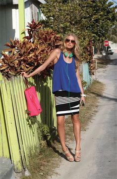 Vince Camuto Skirt & Frenchi® Top | Nordstrom