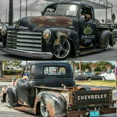 Killer Custom 1957 Chevy 3100 Pick Up. If you are into top shelf Hot rodding this Chevy Truck pretty much defines it. 54 Chevy Truck, Chevy 3100, Classic Chevy Trucks, Chevy Pickups, Classic Cars, Chevy Classic, Chevrolet Trucks, Old Pickup Trucks, Hot Rod Trucks