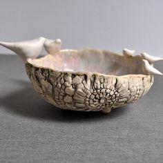 Family Bowl- Made to Order for your family handbuilt ceramic bowl