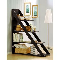 Modern Divider & Shelving System. great way to divide a big space!