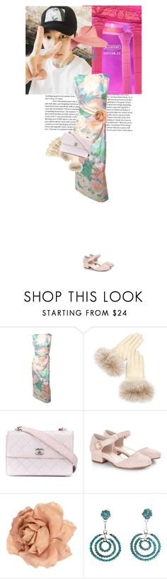 """""""Untitled #1681"""" by the2ndchild ❤ liked on Polyvore featuring Overland Sheepskin Co., Chanel, Monsoon, Child Of Wild and Eugenia Kim"""