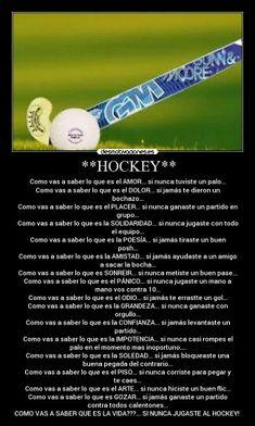 Amor al hockey