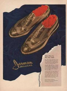 This Pair Is Not for Sale Jarman Shoes For (1941)