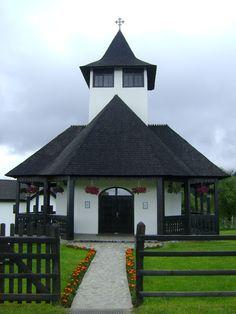 Bran monastery is located on the top of the Balaban ridge, Bucegi mountains, Romania.