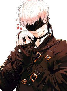 Image about nier automata in ɴɪᴇʀ: ᴀᴜᴛᴏᴍᴀᴛᴀ by ad astra Fanarts Anime, Anime Characters, Nier Automata 2, Drakengard Nier, Character Art, Character Design, Naruto E Boruto, Hot Anime Boy, Anime Boys