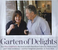 Barefoot Contessa.  He style is classic and her history is fascinating!