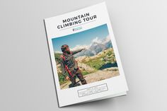 Travel agency guide / itinerary  by 3.14&Co on @creativemarket