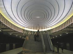 The Warsaw Metro Station #subway #metro