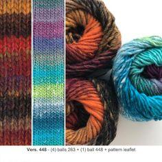 Heart Scarf - Knit Kit - 448
