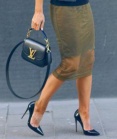Louis Vuitton and Christian Louboutin