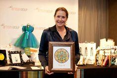 Lorraine Bracco with Ilene Price Designs http://etsy.me/qvYaYH