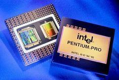 1995年11月  インテル® Pentium® Pro プロセッサー。  ダイナミック・エグゼキューション技術を採用した第6 世代製品、インテル® Pentium® Pro プロセッサーを発表。クロック周波数は150~200MHz。プロセス技術は0.6~0.35 ミクロン。