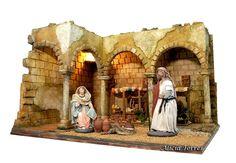 O Portal, Christmas, Handmade, Painting, Inspiration, Stage Backdrops, Nativity Scenes, Google, Decoration