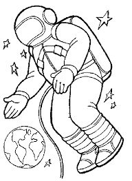 Image result for astronaut clipart black and white