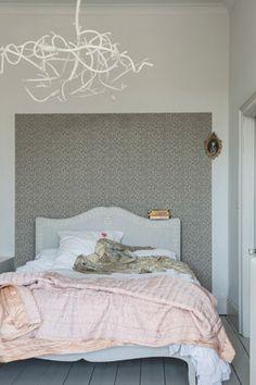 master bedroom idea for feature wall.  Samphire BP 4004 - Wallpaper Patterns - Farrow & Ball