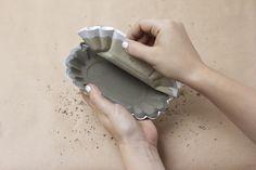 DIY: Zement Teller