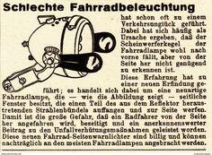Werbung - Original-Werbung/ Anzeige 1936 - FAHRRAD SCHEINWERFER - ca. 65 x 50 mm