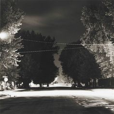 Summer Nights. Robert Adams, Longmont, Colorado, 1976