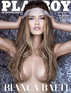 Dolce & Gabbana model Bianca Balti Covers US Version of Playboy July/August 2014 | Photographed by Greg Lotus