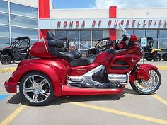 motorcycles And scooters: 2016 Honda Gold Wing 2016 Honda Goldwing Trike Gl 1800 Roadsmith Hr Signature Series BUY IT NOW ONLY: $34985.0