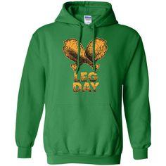 Leg Day T-Shirt | Funny Thanksgiving Turkey Tee M/W/H