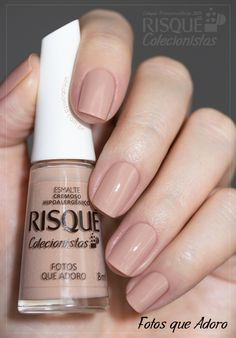 Nail Art Designs In Every Color And Style – Your Beautiful Nails Nude Nails, Pink Nails, Hair And Nails, My Nails, Nail Art Designs, Nail Paint Shades, Manicure E Pedicure, Classy Nails, Nagel Gel