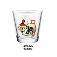 Moomin Kartio Tumblers Little My Floating Iittala Finland Moomin Mugs, Tove Jansson, Kawaii Illustration, Scandinavian Kitchen, Deco Table, Design Museum, Marimekko, Little My, Metal Furniture