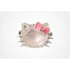 Hello Kitty Ring <3 I want her.
